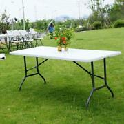 Folding Camping Dinner Table Heavy Duty Outdoor Indoor Party Bbq Garden Tables