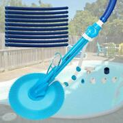 Automatic Inground Above Ground Suction Type Side Swimming Pool Cleaner W/ Hoses