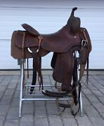 Dc Cow Horse Gear 17andrdquo Cutting Western Saddle