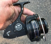 Vintage D.a.m Quick 3001 Disc Brake Spinning Fishing Reel Made In W. Germany