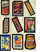 1974 Wacky Packages Series 5 Set 32 Stickers Plus Puzzle 9