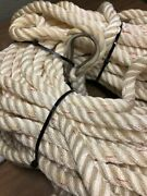 Marine Anchor Line Premium Three-strand 5/8 X 200and039 Rope Pre-owned