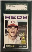 1964 Topps Pete Rose 125 Sgc 5 Ex All Star Rookie Cup 2nd Year 1st Solo Card