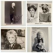 The Golden Girls Cast - 4 Signed Autograph 8x10 Photos Jsa - Free Priority Sandh