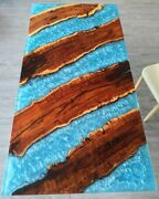 72 X 36 Epoxy Resin Table Top Coffee Table/ Dining / Center Decor