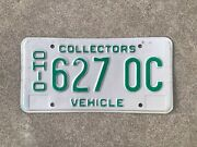 1985 To 1991 - Ohio - Collectors Vehicle - License Plate