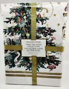 Williams-sonoma Twas The Night Before Christmas Tablecloths 70x108 And 70x120