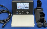 Furuno Rd-33 Nmea 2000 Instrument Data Repeater Display W/ Cover, Cable And Mount