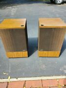 Vintage Bose 501 Speakers Excellent Condition And Working Fine