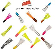 Arkie Solid Body Tubes Soft Fishing Lures 14 Colors1 Pk=100 Tubes-free Shipping