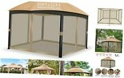 10andrsquo X 12andrsquo Gazebo Universal Replacement Mosquito Netting Walls With 12and039x12and039