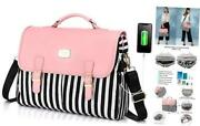 Laptop Bag For Women Large Capacity Computer Bags Cute 15.6 Inch Pink-pro