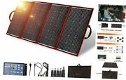300 Watts 18 Volts Portable Foldable Solar Panel Monocrystalline With Charge