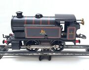 Hornby Meccano England O Gauge Br Steam Locomotive Wind-up Tin Plated Mint `50