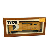 Vintage Ho Tyco Canadian Pacific 40andrsquo Box Car Cp 56767 Freight Car Horn Hook