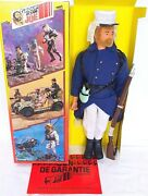 Group Action Joe Team French Foreign Legion Uniform 12 Doll + Outfit Nmib`80