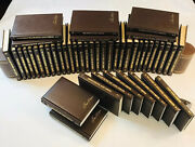 Louis L'amour Western Hardcover Books Leatherette Lot Of 46 Free Shipping