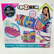 Rubber Band Loom Kit Cra-z-art Weave And Wear New