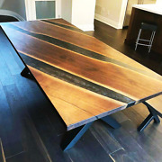 72 X 36 Epoxy Resin Table Top Coffee Table/ Dining / Center Table Top