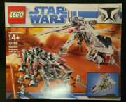 New Lego Star Wars 10195 Republic Dropship With At-ot Walker Sealed