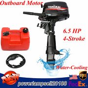 Hangkai 6.5 Hp 4stroke Outboard Motor Boat Marine Engine With Water Coolingandcdi