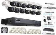 16 Channel Expandable Audio 5mp Poe Security Camera System With 4tb Hard