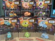 Nib Limited Edition Disney Pixar Cars Drive-in Collectible Cars - Toy Story Etc