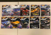 Hot Wheels Fast And Furious Fast Imports And Fast Rewind Set