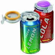 Jokari Fizz-keeper Can Pump And Pour Assorted Colors Pack Of 3 3