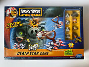 New Angry Birds Star Wars Jenga Death Star Game Factory Sealed 1-2/8+ Hasbro