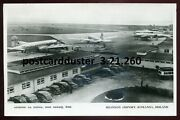 260 - Ireland Rineanna 1950s Shannon Airport. Airplanes. Real Photo Postcard