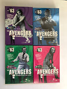 The Avengers - '63 Collection Box Sets 1-4 Patrick Macnee And Honor Blackman Mint