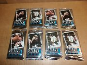 1999 Wwf Smack Down 8 All Chromium Trading Card Packs Possible Autographs Gold