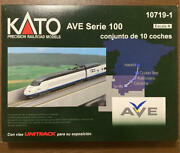 Kato N-scale 10719-1 Ave Serie 100 10 Car Set With Display Unitrack Very Yz207