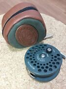 Orvis Cfo Iv 4 Disc Salt Water Fly Reel With Leather Soft Case Used Japan