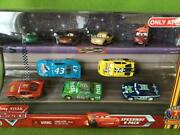 Disney Cars 2 Mattel 9car Pack Diecast 1/55 In Stock Japan First Shipping