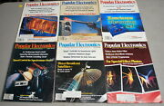 Popular Electronics Magazine 1981 Complete Year Lot Of 12 Issues