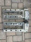 Bmw M62 V8 1996-1998 Early Valve Cover Pair Left Right E39 540 E38 740 Oem Used