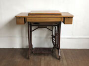 Antique Japanese Janome Sewing Machine Stand Industrial Table Legs Base