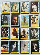 1977 Star Wars Wonder Bread 16 Card Complete Collector Set - Nice And Rare