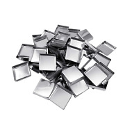Allwon 56 Pack Empty Square Metal Pans For Eyeshadow Palette Magnetic Makeup