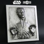 Regal Robot Esb Ep. 5 Han Solo In Carbonite Wall Plaque Large New Sealed