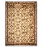 12and039 X 18and039 Hand Knotted French Savonnerie Area Rug Wool Full Pile 12x18 Beige