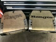 Vintage 1980s Ranger Bass Boat Seat | Tan | Good Condition 2 Seats