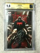 Venom 26 September 2020 Cgc 9.8 White Pages Signature And Sketch By Inhyuk Lee
