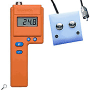 Delmhorst Fx-2000w/ps Digital Hay Moisture Meter With Power Supply