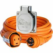 Smartplug 30 Amp 50' Dual Configuration Cordset W/tinned Wire And 30 Amp Stainl...