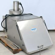 Hapman Fl Dust Collector For Helix Conveyor Hopper With Blower Very Clean