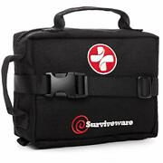 First Aid Kit Removable Molle Compatible System Emergency Bag For Camping Hik