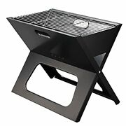 Portable X-type Grill Charcoal Grill Camping Family Dinner Bbq Stainless Steel
